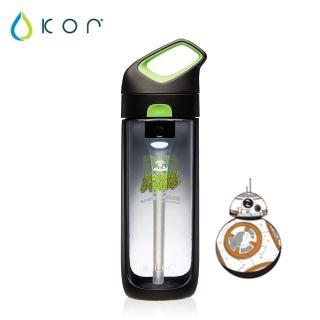 【美國KOR water】Nava Sport夜光星戰瓶650ml(BB8/黑綠色)