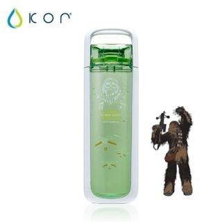【美國KOR water】One星戰立體水瓶750ml(丘巴卡/綠色)