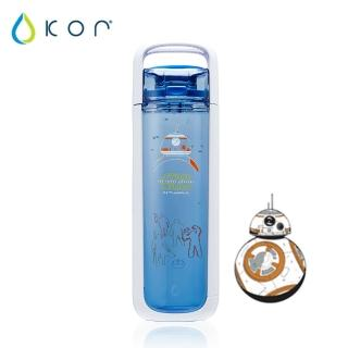 【美國KOR water】One星戰立體水瓶750ml(BB-8/藍色)