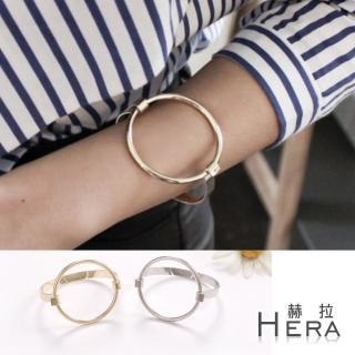 【Hera】幾何圓形手環/手鐲(二色)