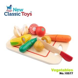 【荷蘭New Classic Toys】蔬食切切樂8件組(10577)
