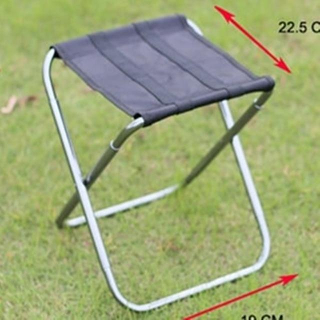 【May Shop】超輕款釣魚馬扎MINI迷你可折疊椅子鋁合金凳子(290g)