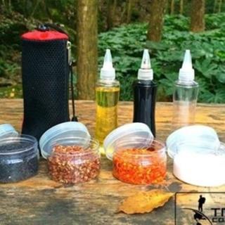 【May Shop】TNR升級大容量 高品質戶外調味瓶 油瓶 醬油瓶 調味罐 收納組 露營 廚房調味(組合價)