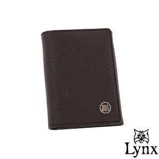 【Lynx】自信熟男真皮系列簡約式名片夾(共2色)