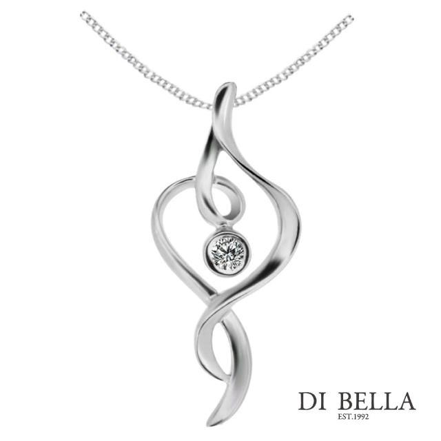 【DI BELLA】夢想舞者 天然鑽石墜鍊(3分)