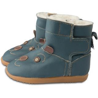 【英國 shooshoos】健康無毒真皮手工童鞋/靴子_優雅巴納比_102773(公司貨)