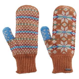 【ATUNAS 歐都納】女款無指保暖手套(A-A1405W 柑)