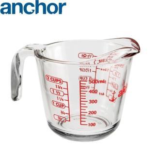 【美國Anchor】專業級強化玻璃量杯(500cc)