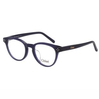 【CHLOE】-復古 圓框 光學眼鏡 CE2680A-424(藍色)