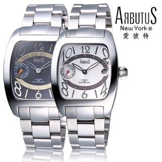 【ARBUTUS 愛彼特】酒桶型紳士腕錶AR0069-L(手錶 腕錶)