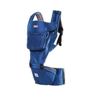 【TODBI】AIR MOTION時尚氣囊款坐墊式背巾(皇家藍)