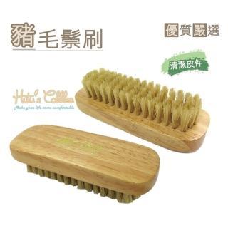 【○糊塗鞋匠○ 優質鞋材】P09 台灣製造 豬毛刷(2個/入)