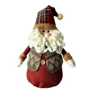 【聖誕裝飾品特賣】紅帽聖誕老公公布偶擺飾