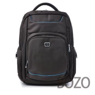 【BOZO柏樂】韓國高密度防水厚質後背包6024(原味咖啡)