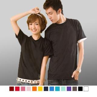 【男人幫】基本款素面混搭配色基本款素面T恤(T0568)