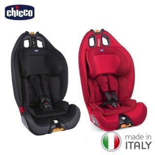 【chicco】Gro-Up 123成長型安全汽座-耀動紅