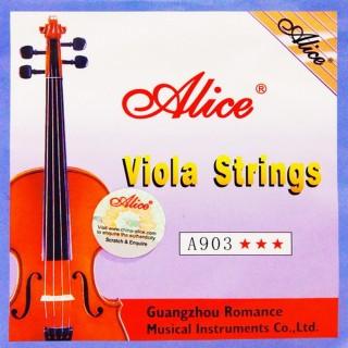 【美佳音樂】Alice A903 中提琴套弦(優質鋼芯/德銀纏弦/鍍鎳珠頭)