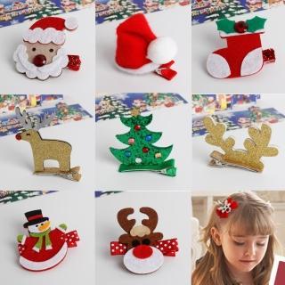 【UNICO】兒童 繽紛聖誕系列髮夾