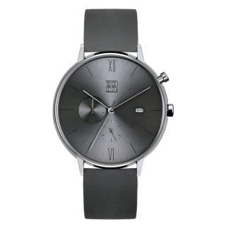 【ZOOM】REFINE 純粹雅仕雙眼錶(灰 /44mm)