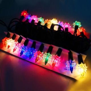 【聖誕裝飾品特賣】聖誕燈-鑽石燈串(20燈 鎢絲燈 可搭聖誕樹)