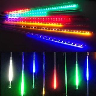 【聖誕裝飾品特賣】聖誕燈裝飾燈LED流星燈串8條燈(四彩光插電式/單燈長50cm)