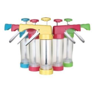 【PUSH!廚房用品】花式餅乾壓花機餅乾模具模裱花嘴裱花器烘焙工具(D53-2黃色)