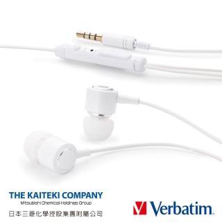 【Verbatim】VS4 鋁製音控接聽入耳式耳麥(速達)