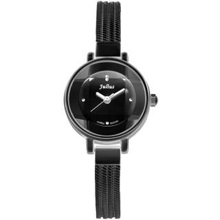 【JULIUS】奢華時裝立體鏡面水蛇手鍊腕錶(五色/22mm)