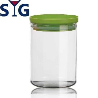 【SYG】刻度耐熱玻璃儲物罐(800cc)