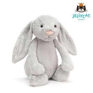 【英國 JELLYCAT】超級大兔子 67公分(Silver 銀色)