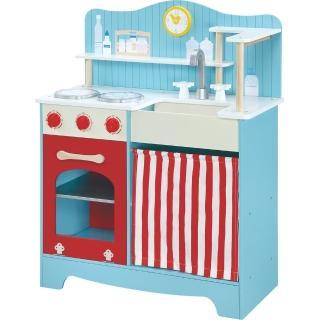 【台灣 愛兒館】鄉村廚房-含贈品廚房配件(男孩女孩都買單的最佳玩具)