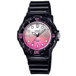 【CASIO】雙色漸層運動潛水風格腕錶(LRW-200H-4E)