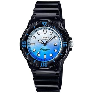 【CASIO】雙色漸層運動潛水風格腕錶(LRW-200H-2E)