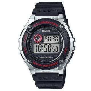 【CASIO】機械設計感電子錶(W-216H-1C)