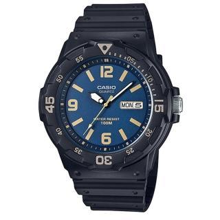 【CASIO】潛水風DIVER LOOK系列錶(MRW-200H-2B3)