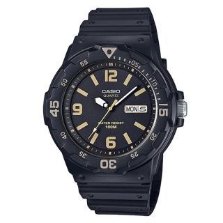 【CASIO】潛水風DIVER LOOK系列錶(MRW-200H-1B3)