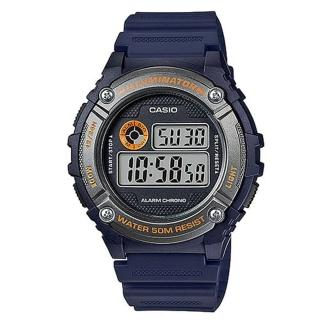 【CASIO】機械設計感電子錶(W-216H-2B)