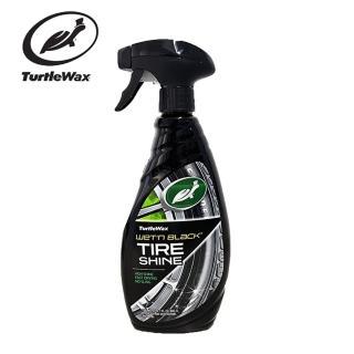 【Turtle Wax 美國龜牌】汽車車用美國龜牌黑亮輪胎 塑件光澤劑 T219