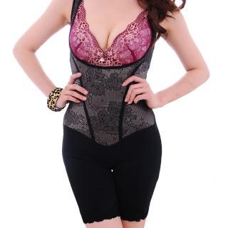 【保奈美】磁晶鈦輕塑型纖体連身衣2入組