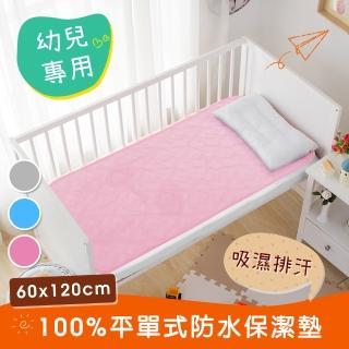 【三浦太郎】幸運草系列-3M吸濕排汗專利兒童防水保潔墊60X120
