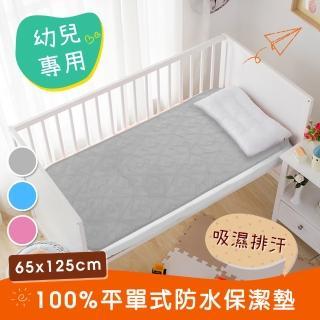 【三浦太郎】幸運草系列-3M吸濕排汗專利兒童防水保潔墊65X125