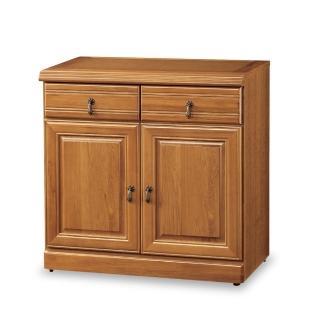 【時尚屋】正樟木2.7尺碗盤櫃 5U7-362-950(免運費 餐櫃)