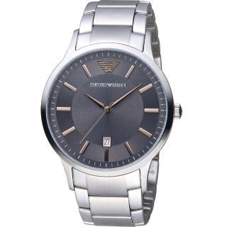 【Emporio Armani】Classic 簡約內斂時尚腕錶(AR2514)