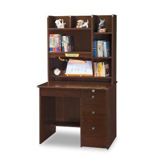【時尚屋】柯洛黑桃3尺書桌 5U7-466-5161(免運費 書房 書桌)