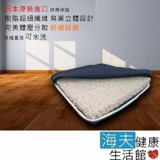 【海夫健康生活館】日本 Ease 3D立體防蹣床墊(85*198*8 cm 電動床專用)