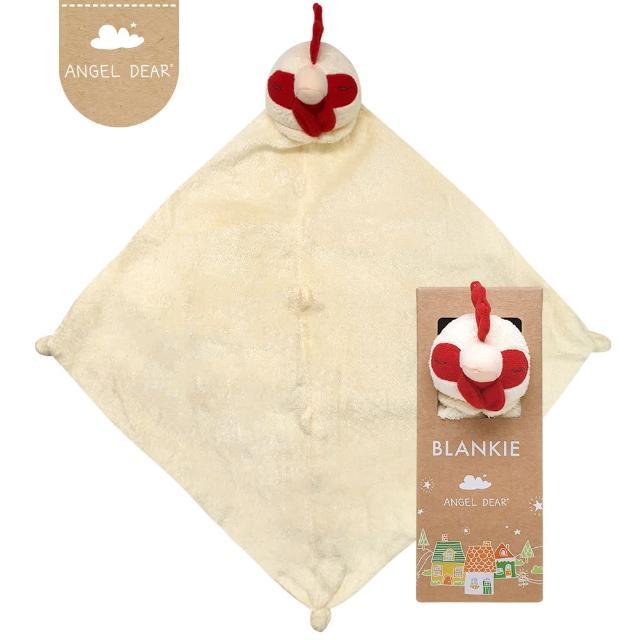 【美國 Angel Dear】動物嬰兒安撫巾(小公雞)