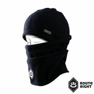 【Route8】POLAR HAT 兒童多功能刷毛保暖帽(黑色)
