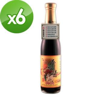 【瑞春醬油】平安醬黑豆醬油X6入(420ml/瓶)