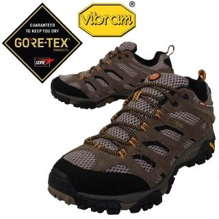 【MERRELL】戶外鞋 Moab Gore-Tex 運動 男鞋 低筒 登山 越野 完全防水 戶外 健行 耐磨(ML87107)
