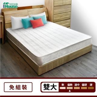 【IHouse】日式透氣三線獨立筒床墊(雙大6x6.2尺)